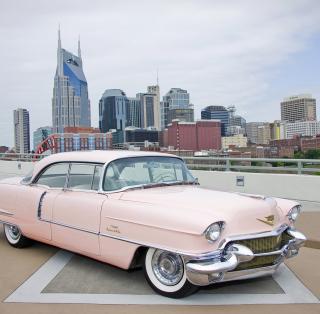 1956 Cadillac Series 62 – Classic Car - Obrázkek zdarma pro 128x128