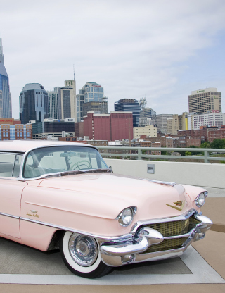 1956 Cadillac Series 62 – Classic Car - Obrázkek zdarma pro 240x400