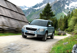 Skoda Yeti Background for Android, iPhone and iPad