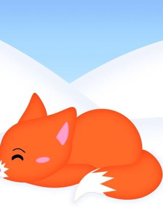 Firefox Logo - Obrázkek zdarma pro 320x480