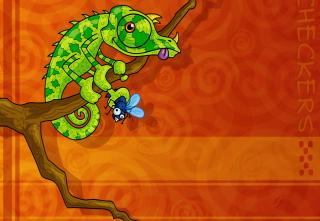 Abstract Iguana - Obrázkek zdarma pro Nokia Asha 200
