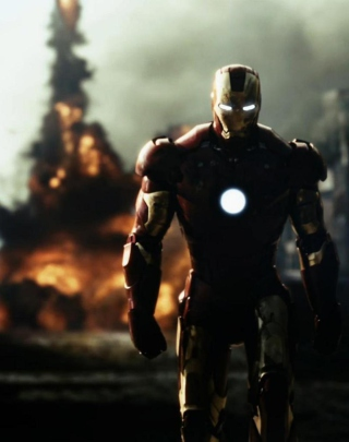 Iron Man - Obrázkek zdarma pro Nokia X3-02