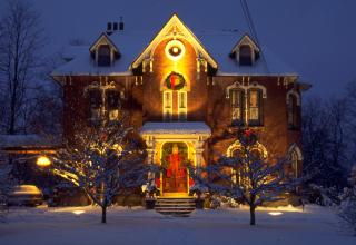 Обои Home Christmas Decoration для телефона