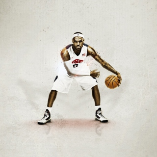 Nike USA Basketball - Obrázkek zdarma pro iPad