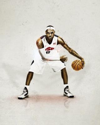 Nike USA Basketball - Obrázkek zdarma pro Nokia C-5 5MP