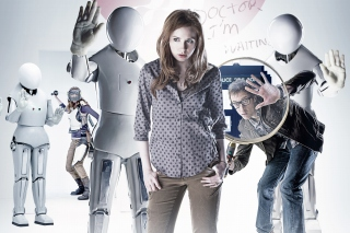 Doctor who, Karen Gillan Background for Android, iPhone and iPad