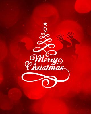 HD Merry Christmas - Obrázkek zdarma pro iPhone 5S