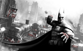 Free Arkham City Batman Picture for Android, iPhone and iPad
