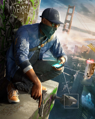 Watch Dogs 2 - Obrázkek zdarma pro 480x800