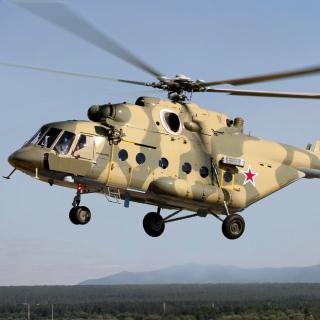 Mil Mi 17 Russian Helicopter - Obrázkek zdarma pro 320x320