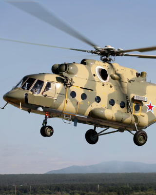 Mil Mi 17 Russian Helicopter Background for Nokia Asha 303