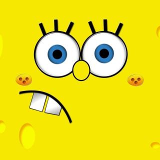 Yellow Spongebob - Obrázkek zdarma pro 208x208