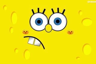 Yellow Spongebob - Obrázkek zdarma pro Android 320x480