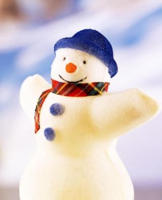 Happy Snowman - Obrázkek zdarma pro 640x1136
