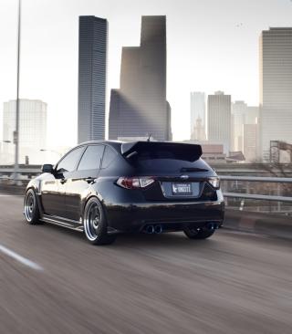 Subaru STi - Obrázkek zdarma pro 132x176