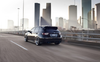 Subaru STi Wallpaper for Android, iPhone and iPad