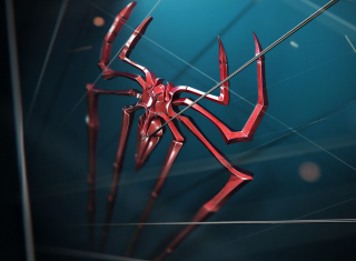 Spider Logo - Obrázkek zdarma pro Motorola DROID