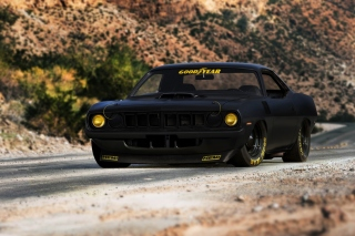 Plymouth Cuda Background for Android, iPhone and iPad