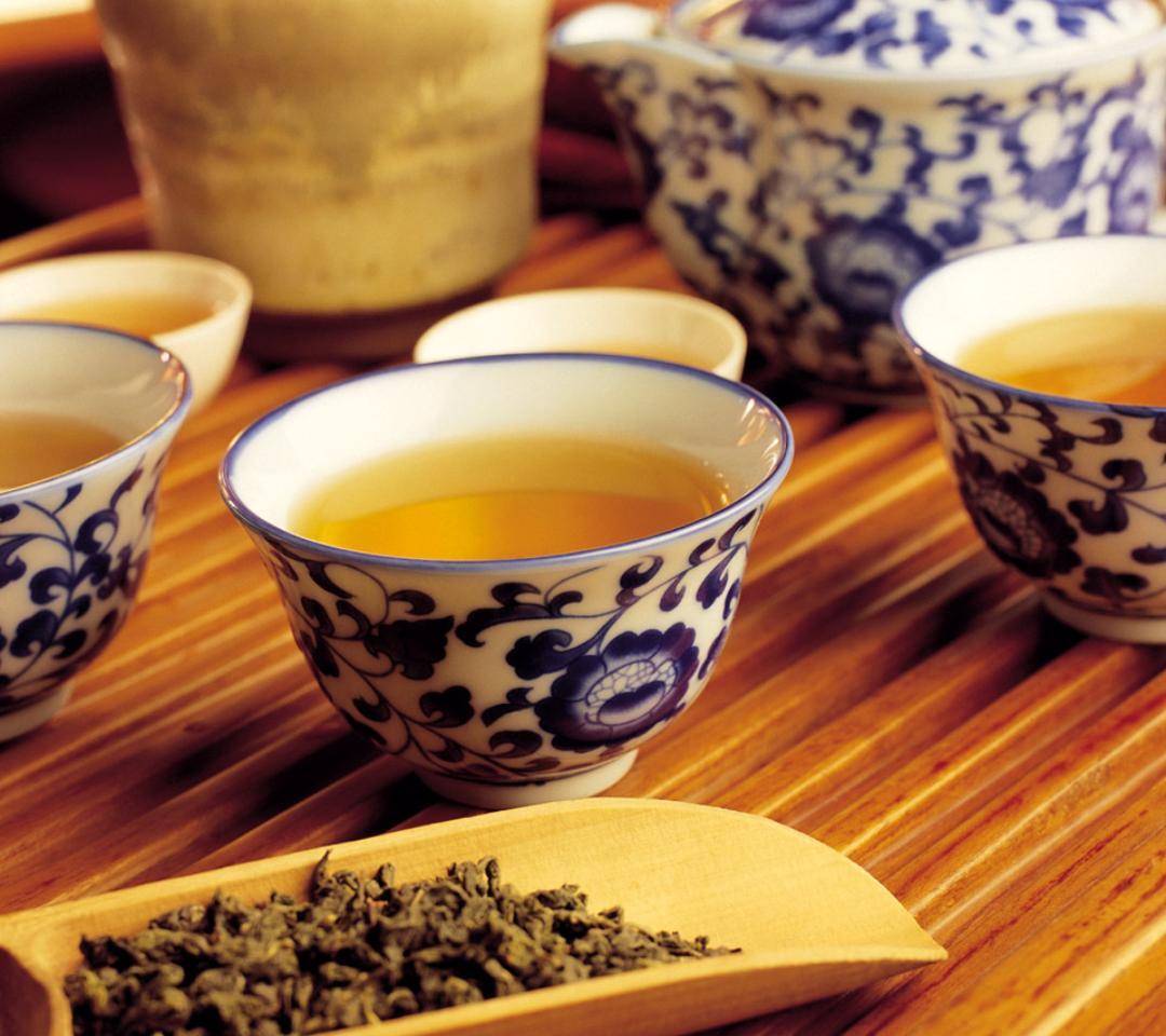 Japanese Green Tea Hibiki Wallpaper for Android 540x960