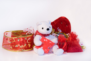 Sweet Teddy Background for Android, iPhone and iPad