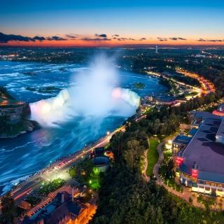 Niagara Falls Ontario - Obrázkek zdarma pro 1024x1024