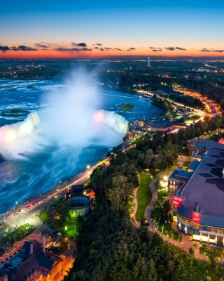 Niagara Falls Ontario - Obrázkek zdarma pro 360x480