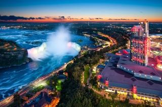 Niagara Falls Ontario - Obrázkek zdarma pro Samsung Google Nexus S 4G