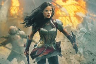 Jaimie Alexander In Thor 2 Picture for Android, iPhone and iPad