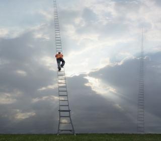 Ladder To Heaven - Obrázkek zdarma pro iPad 3