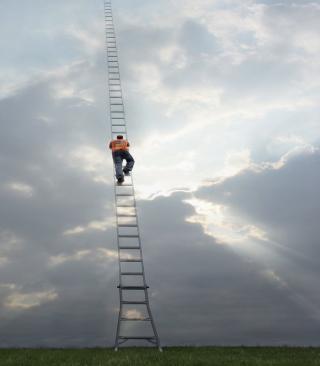 Ladder To Heaven - Obrázkek zdarma pro Nokia 206 Asha