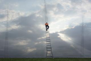 Ladder To Heaven - Obrázkek zdarma pro Nokia Asha 302