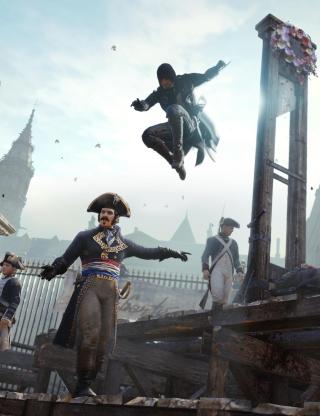 Assassin's Creed Unity - Obrázkek zdarma pro Nokia Lumia 900