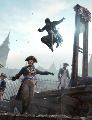 Assassin's Creed Unity - Obrázkek zdarma pro Nokia X2-02