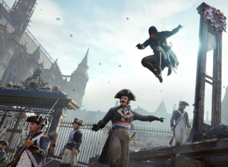 Assassin's Creed Unity - Obrázkek zdarma pro Samsung Galaxy S6 Active