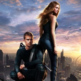 Divergent - Obrázkek zdarma pro iPad Air