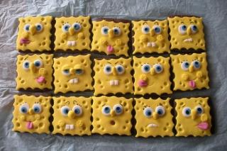 Spongebop Squarepants Cookies - Obrázkek zdarma pro Samsung Galaxy Nexus