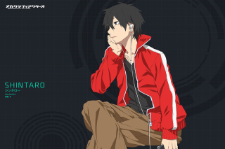 Обои Shintaro Kisaragi, Mekakucity для Android