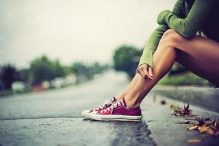 Pink Converse - Obrázkek zdarma pro 1400x1050