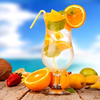 Cocktail - Obrázkek zdarma pro iPad Air