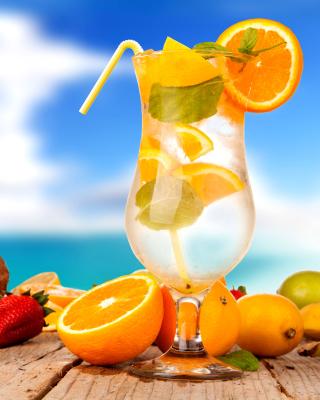 Cocktail - Obrázkek zdarma pro Nokia X6