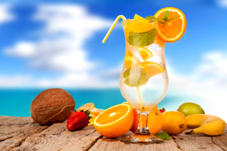 Cocktail - Obrázkek zdarma pro LG Optimus M