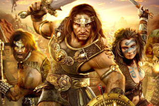 Age of Conan Wallpaper for Android, iPhone and iPad