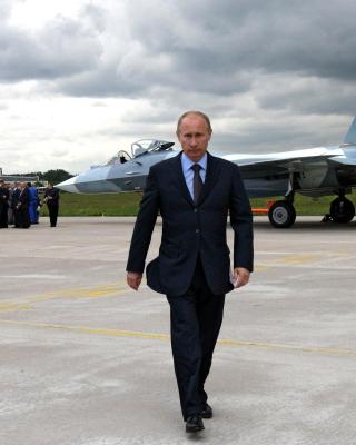 Vladimir Putin - Obrázkek zdarma pro 128x160