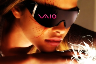 Sony Vaio 3d Glasses Background for Android, iPhone and iPad