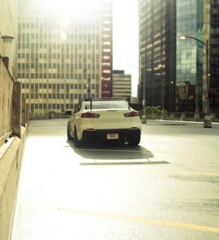Mitsubishi Lancer Evo Urban - Obrázkek zdarma pro 208x208
