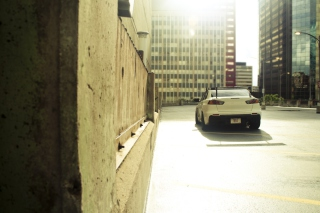 Mitsubishi Lancer Evo Urban - Obrázkek zdarma pro Motorola DROID