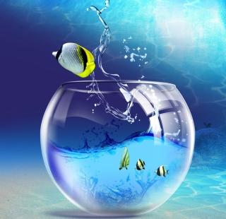 Yellow Fish - Obrázkek zdarma pro iPad 3