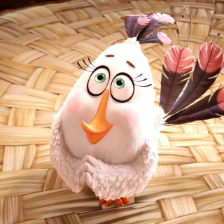 The Angry Birds Movie Matilda - Obrázkek zdarma pro 320x320