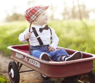 Stylish Baby Boy - Obrázkek zdarma pro iPad