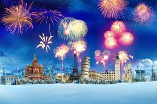 World Fireworks - Obrázkek zdarma pro 1280x800